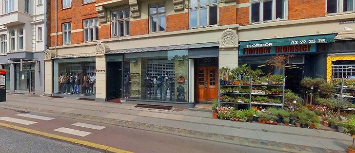 Zornig Dametøjsforretning Frederiksberg, Frederiksberg